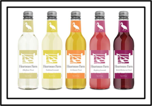 British, lightly sparkling Juice Presses- Heartsease Farm